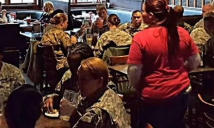 Mystery Man Buys Lunch for National Guard Troops – Random Act of Kindness