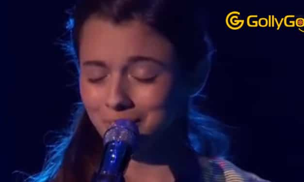 Little Laura Sings For Grandfather in Heaven On America's Got Talent Audition