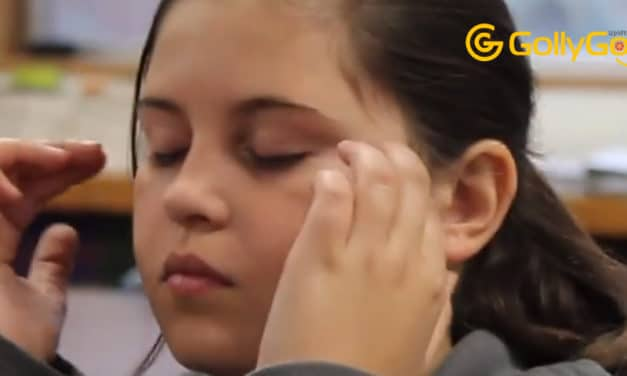 Stress Relief for Kids – Watch What Happens When Kids Tap In The Classroom